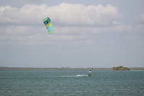kitesurfing spots in Kalpitiya